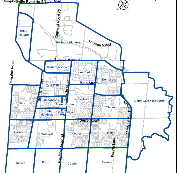 Hst Tax Calculator >> Inam Sherwani | Urban Milton neighbourhood Development Map
