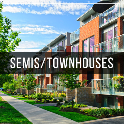 Semi-Detached and Townhomes For Rent in Milton